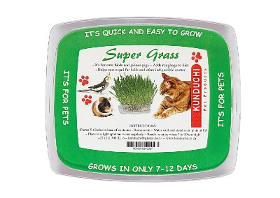 Super Grass (adds roughage helps expel fur balls)